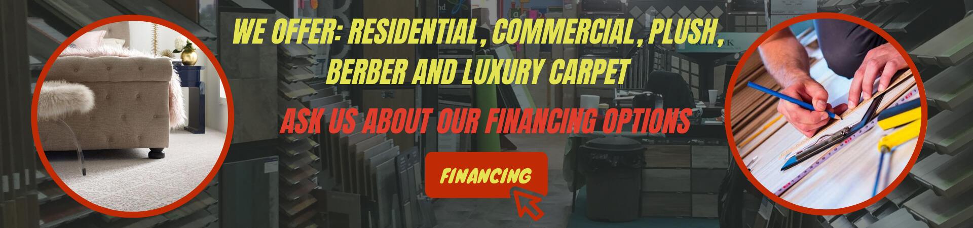 we offer financing